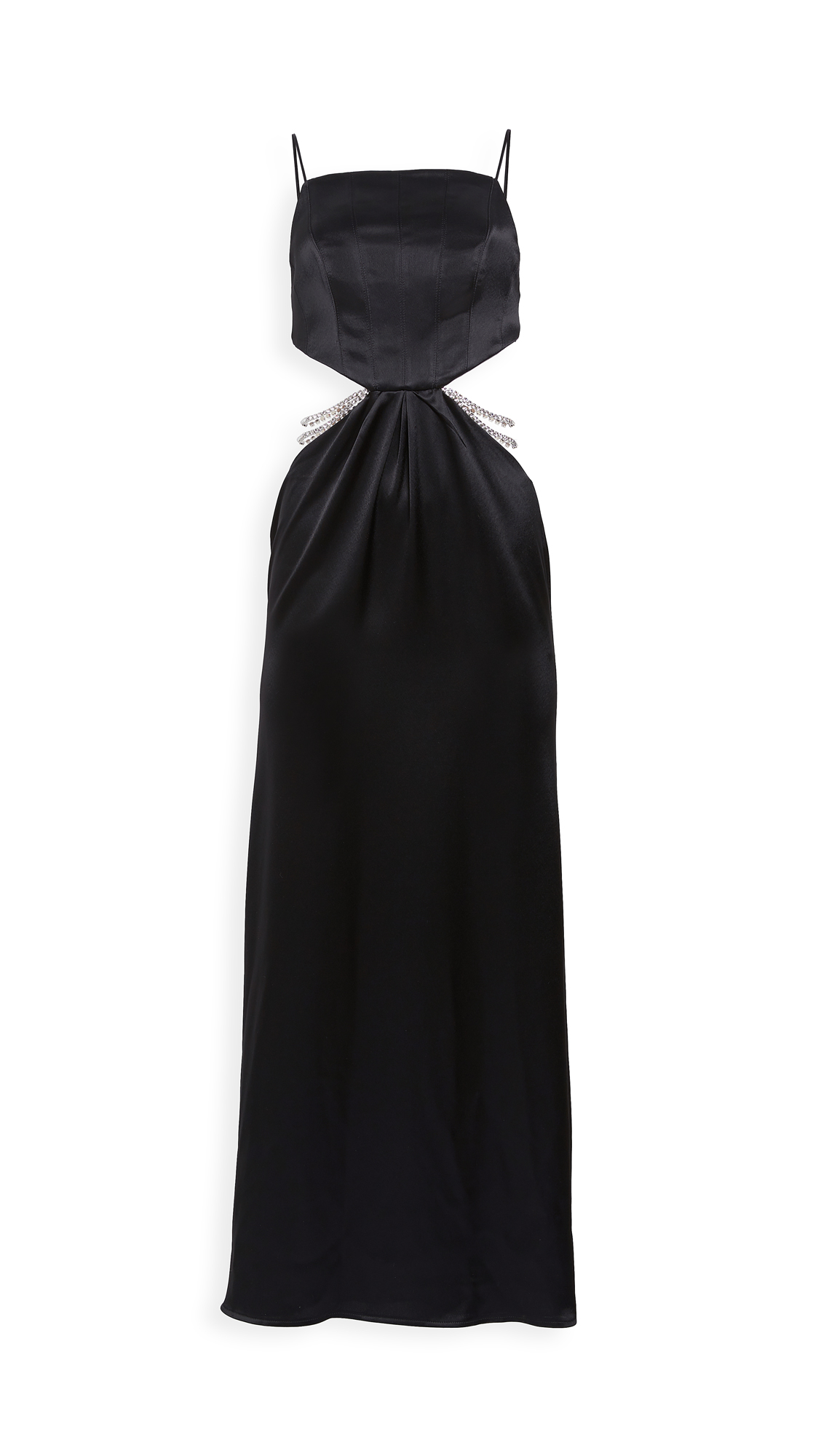 Photo of Nafsika Skourti Carla Dress Long - shop Nafsika Skourti Dresses, Strapless online