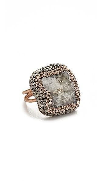 Native Gem Aqua Aura Ilume Ring