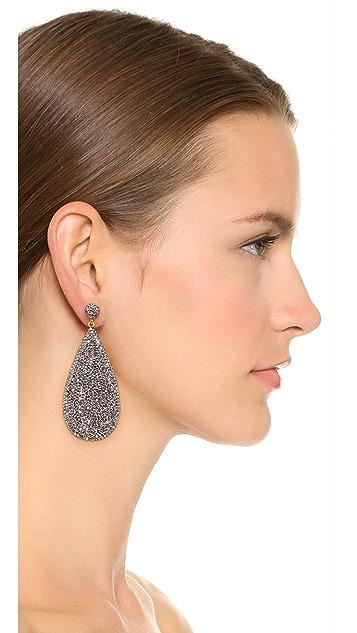Native Gem Galaxies Teardrop Earrings