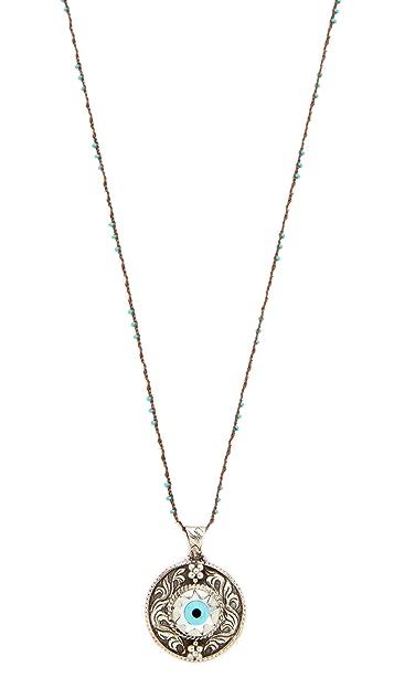 Native Gem Protection Necklace