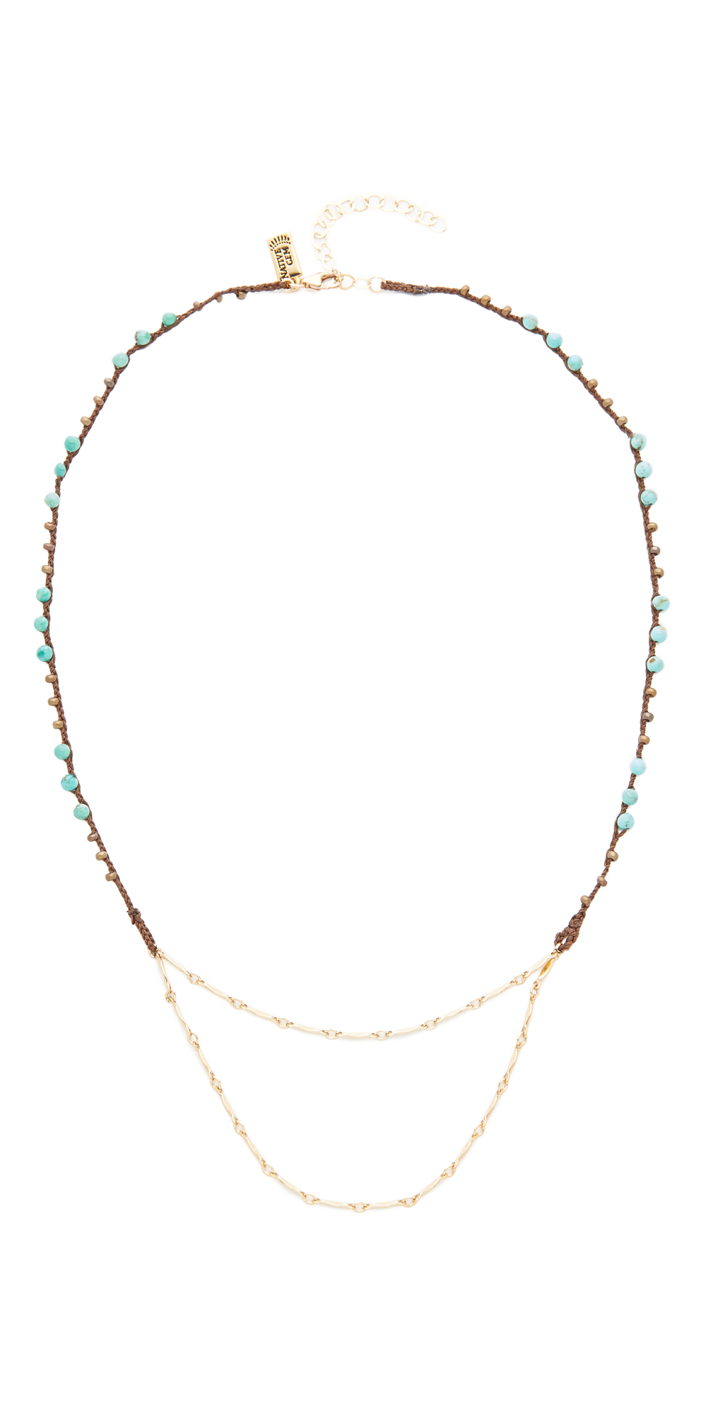 Native Gem Juno Drape Choker Necklace