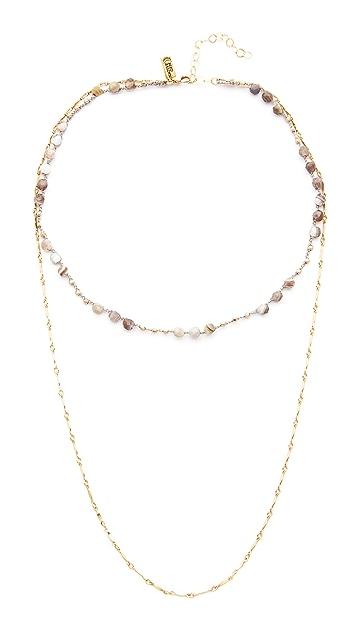 Native Gem Waverly Drape Necklace