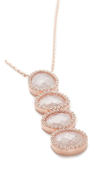 Native Gem Crystal Moonstone Revelation Necklace