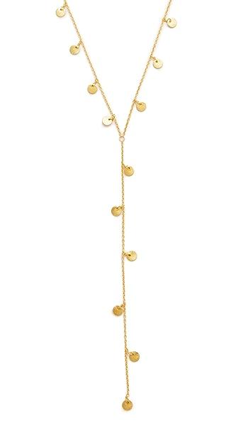 Native Gem Dancing Coins Necklace