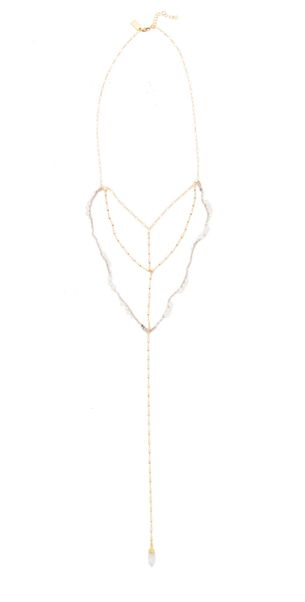 Native Gem Sparrow Drape Necklace