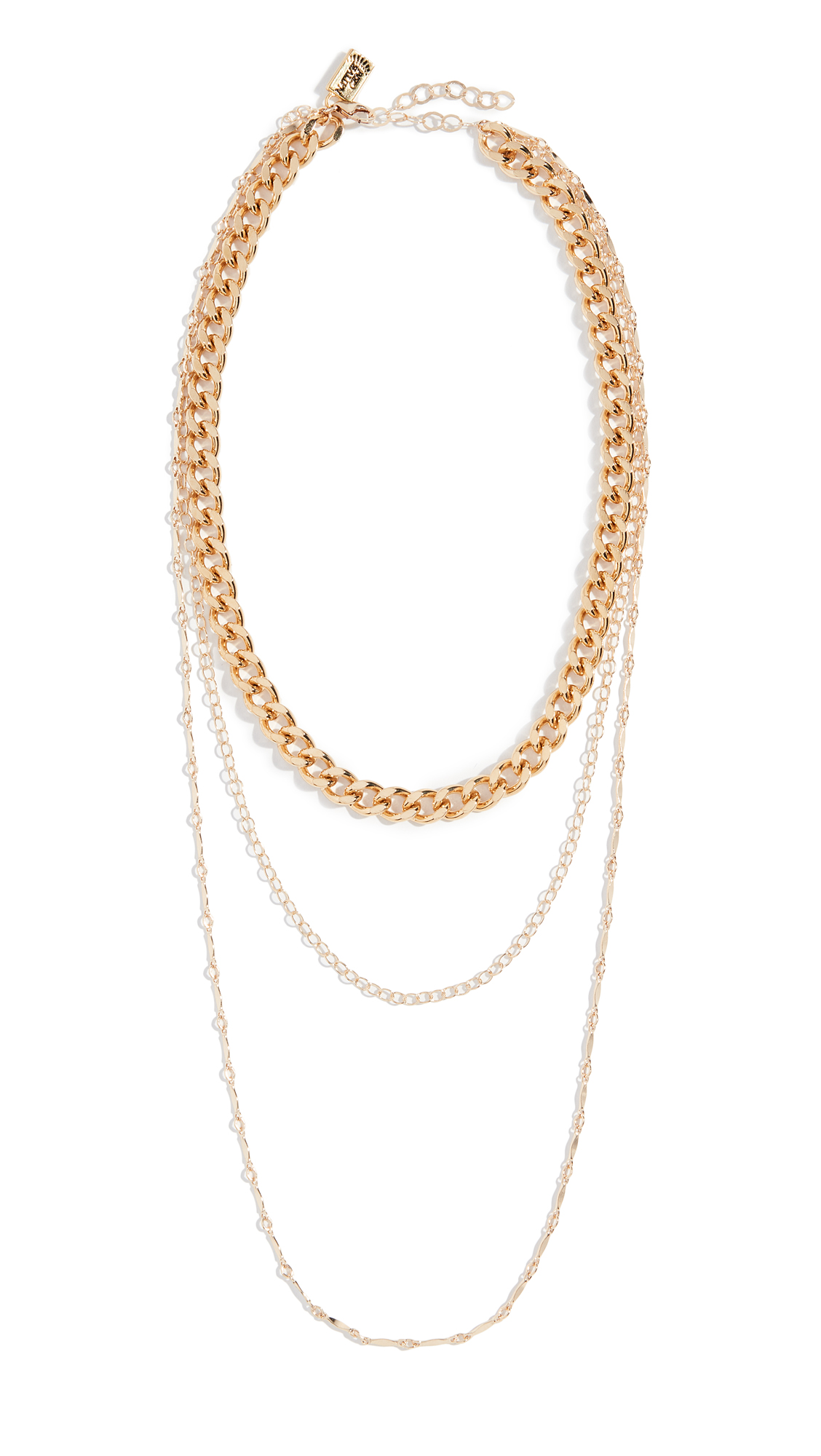NATIVE GEM LUXE LAYERED NECKLACE