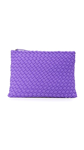 Naghedi Salina Medium Pouch - Plum