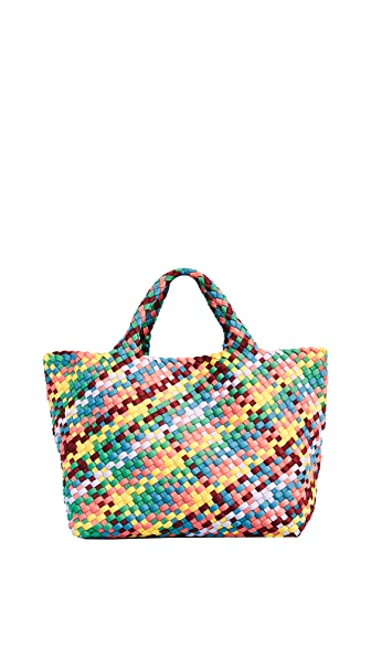 Naghedi Small St Barth's Tote In Rainbow