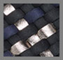 оникс/темно-синий/пушечная бронза