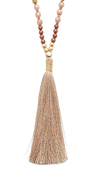 Nakamol Coco Tassel Necklace