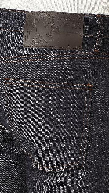 Naked & Famous Skinny Guy Jeans in Raw Stretch Denim