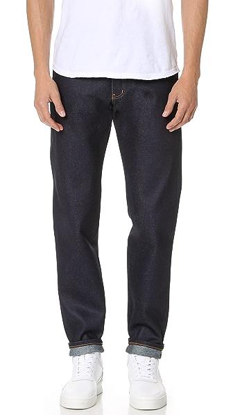 Naked & Famous Easy Guy Elephant 2 Revenge Jeans