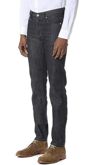 Naked & Famous Super Skinny Guy Indigo Selvedge Jeans
