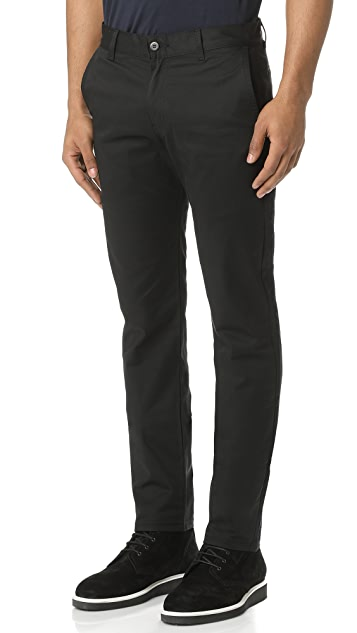 Naked & Famous Slim Stretch Twill Chino Pants