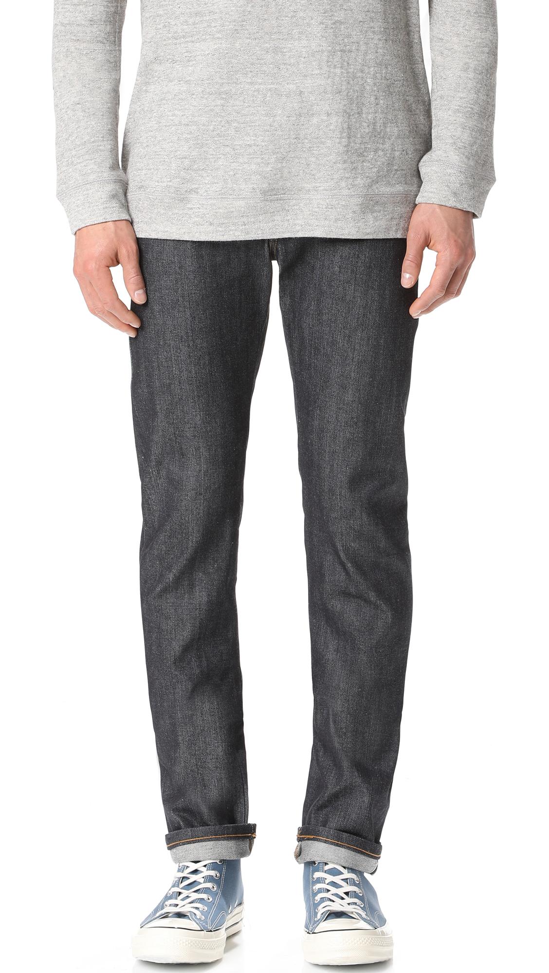 Left Hand Selvedge Skinny Jeans