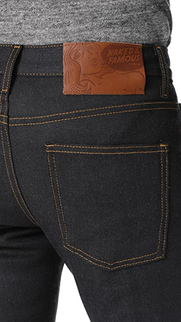 Naked & Famous Stretch Selvedge Skinny Guy Jeans