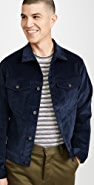 Naked & Famous Indigo Corduroy Denim Jacket