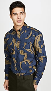 Naked & Famous Easy Shirt In Abstract Print