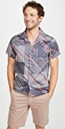 Naked & Famous Retro Wave Aloha Shirt