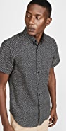 Naked & Famous Kimono Scales Short Sleeve Easy Shirt