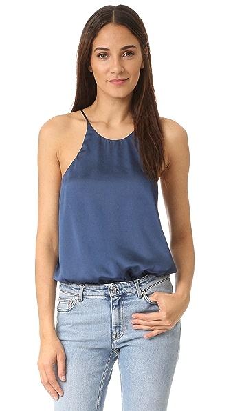 Re:Named Cami Bodysuit - Slate Blue