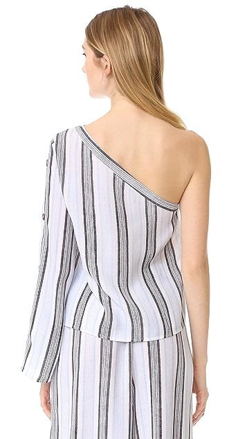 re:named One Shoulder Blouse