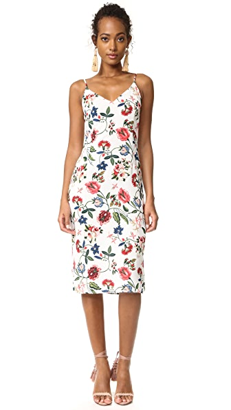 re:named Summer Garden Midi Dress
