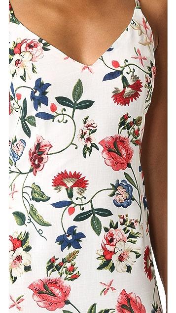 re:named Summer Garden Midi Dress