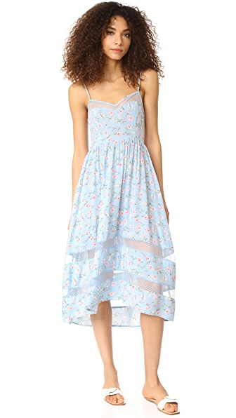 re:named Layla High Low Dress - Blue