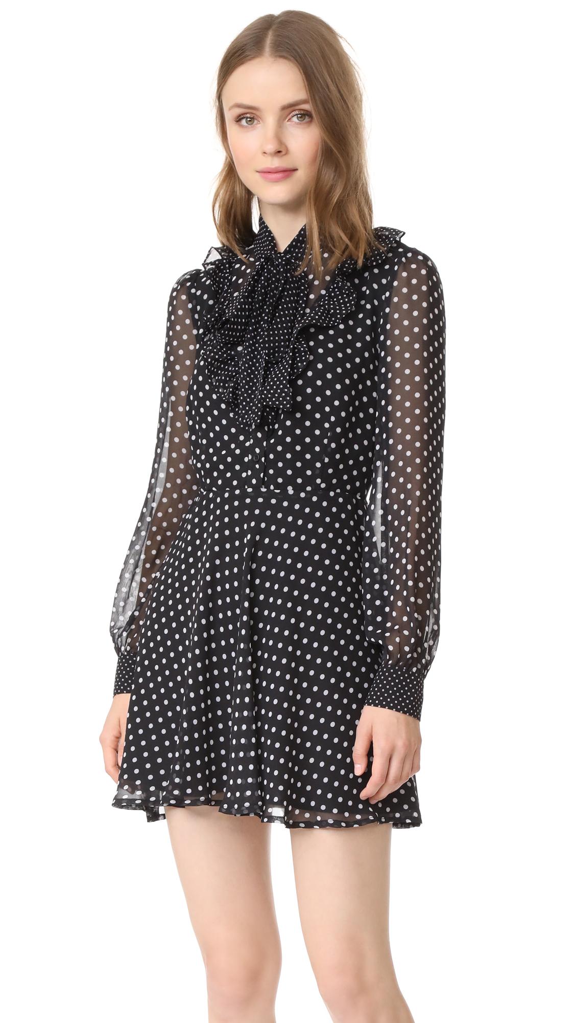 re: named Polka Dot Dress - Black/White