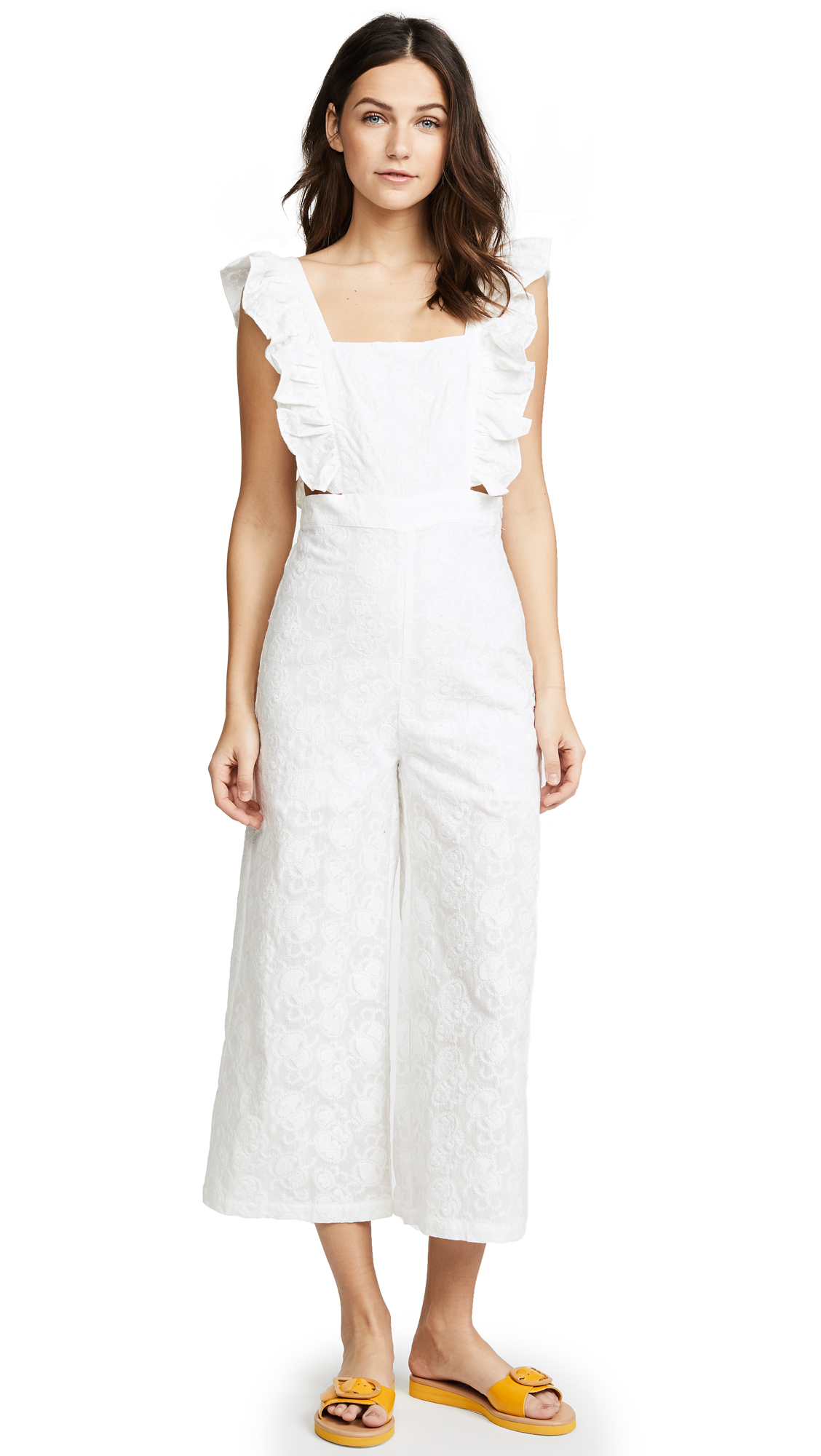 re: named Ruffle Overall Jumpsuit