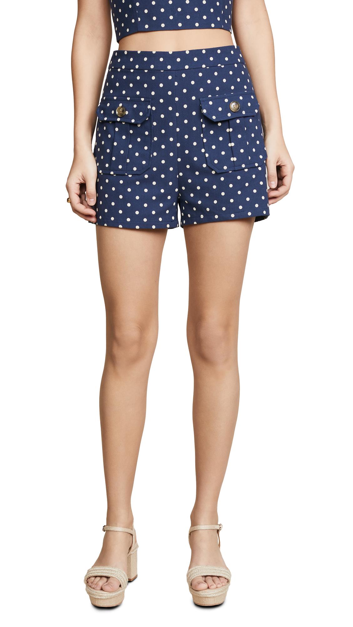re: named Polka Dot Shorts - Navy