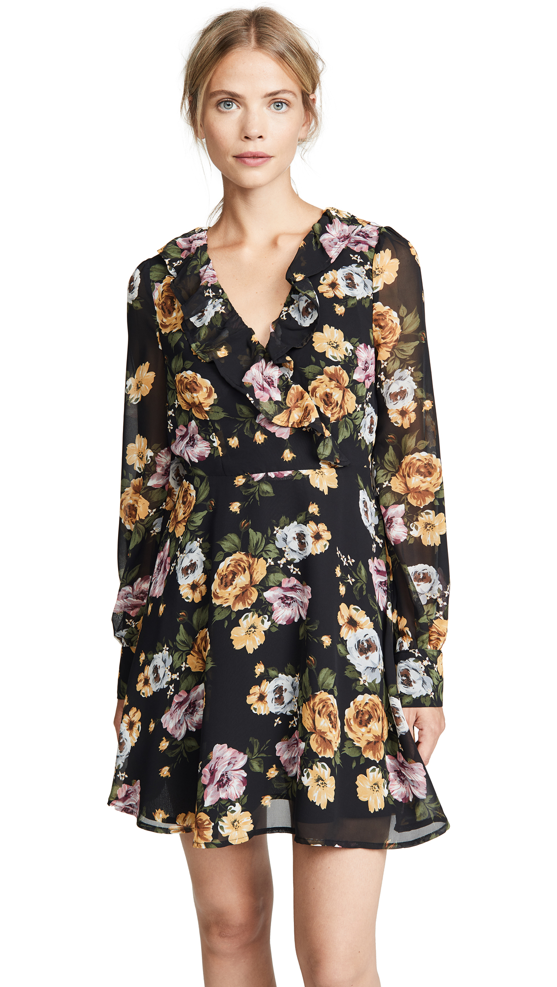 re: named Floral Long Sleeve Dress