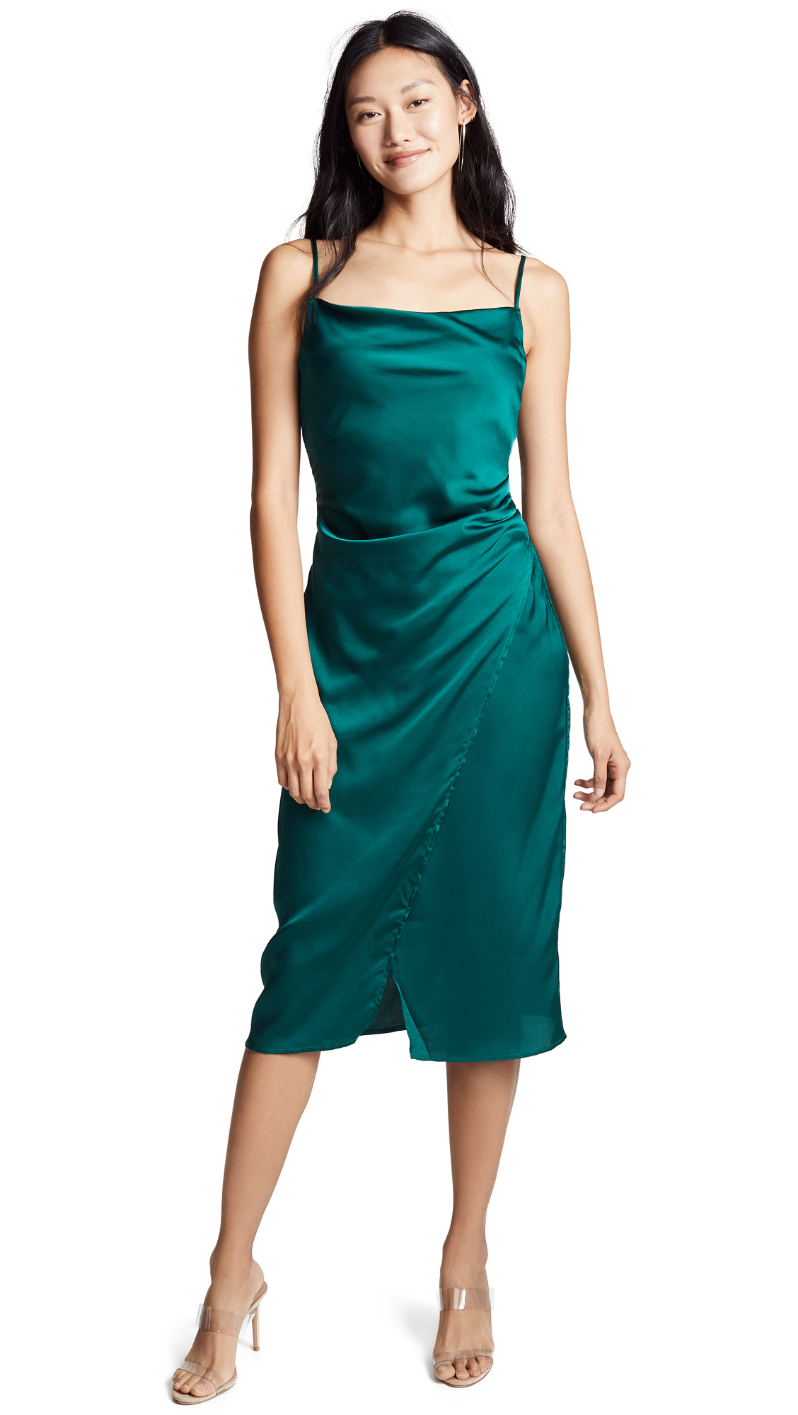 re: named Maddy Slip Dress - Emerald