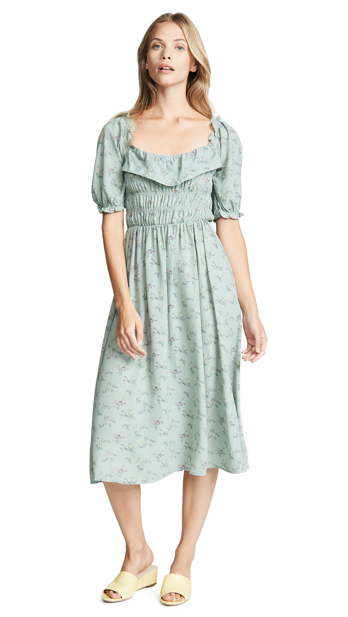 RE:NAMED Re: Named Traci Dress in Sage