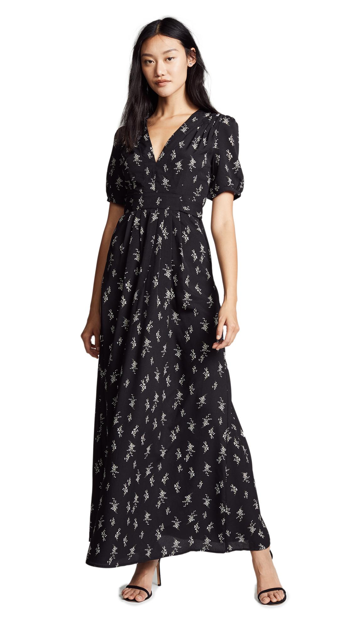 re: named Luciana Dress - Black Multi