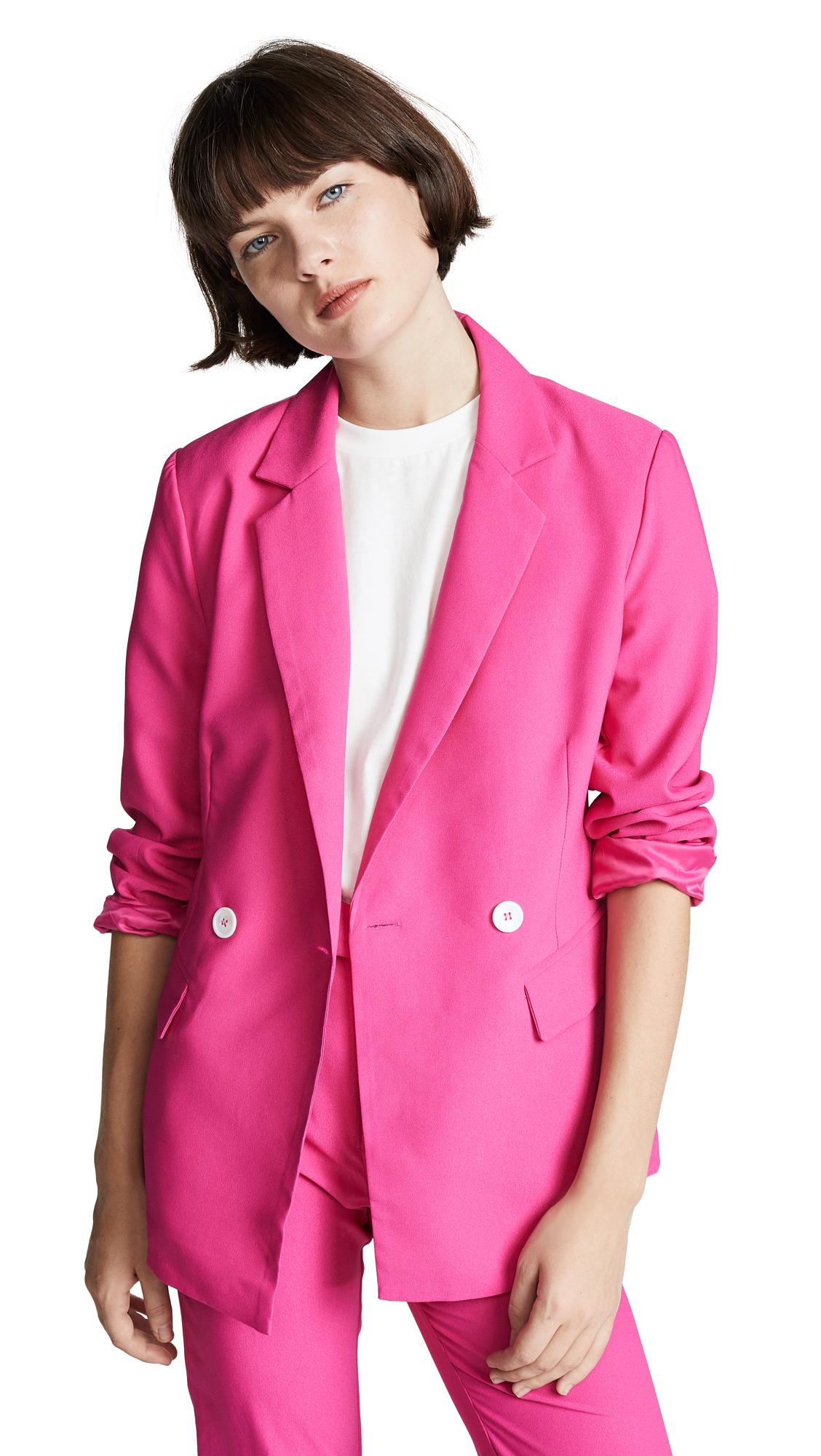 RE:NAMED Re: Named Krista Blazer in Hot Pink