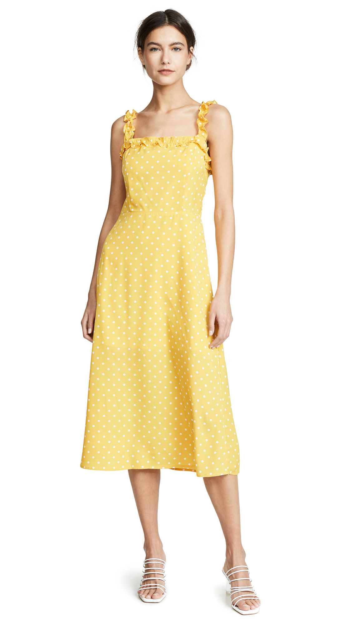re: named Remy Polka Day Dress - Yellow/White