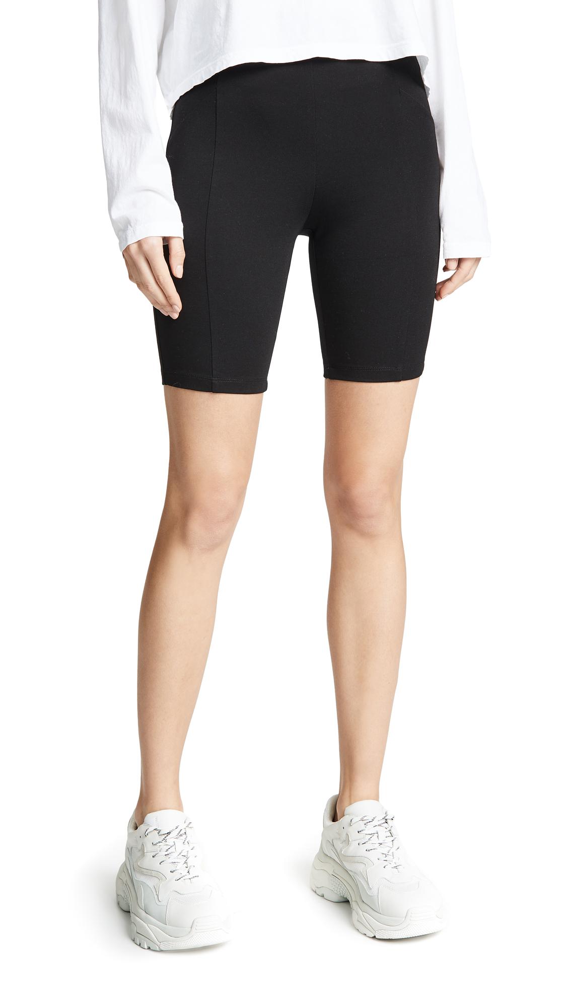 RE:NAMED Re: Named Feline Biker Shorts in Black