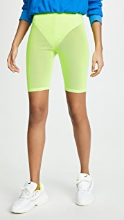 re:named Neon Biker Shorts