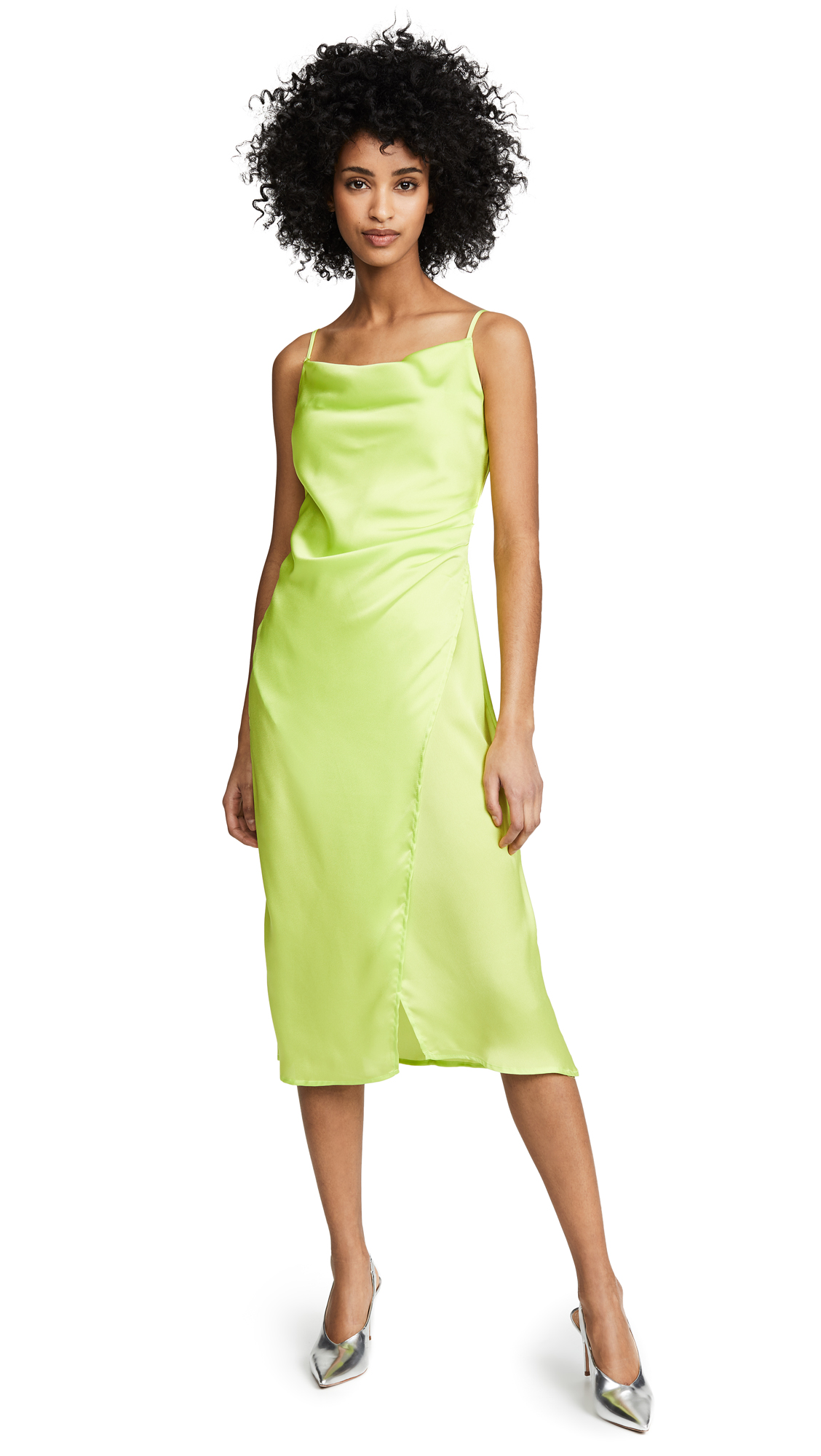 re: named Maddy Slip Dress - Lime