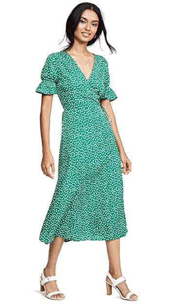 re: named Drew Polka Dot Wrap Dress