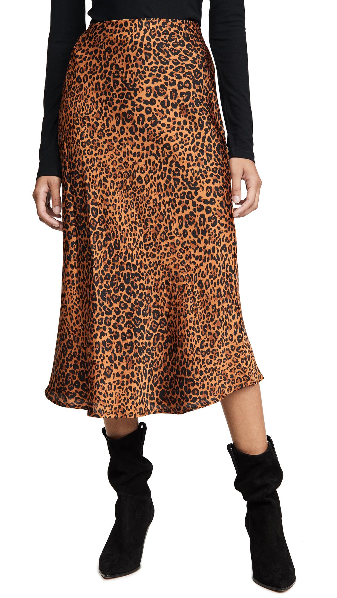Buy re:named online - photo of re: named Slip Midi Skirt