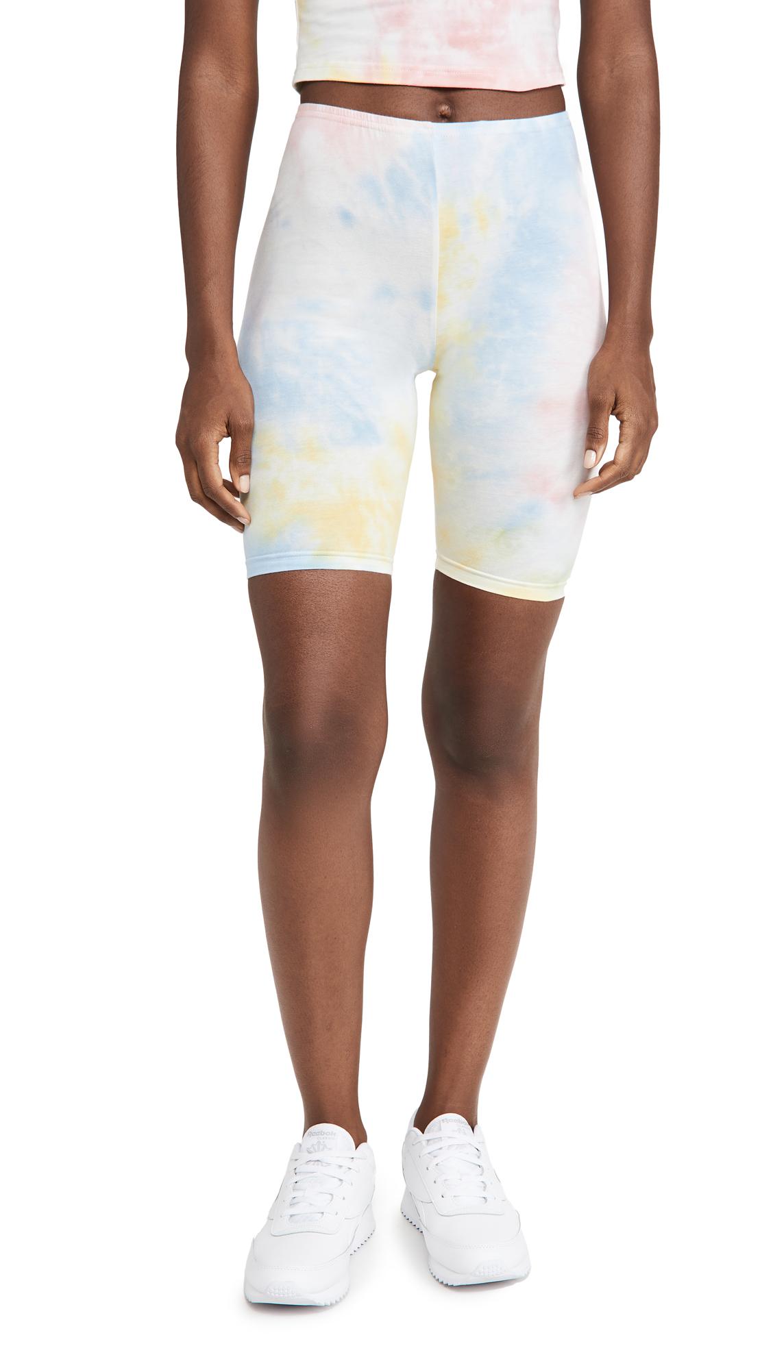 Re:named Re: Named Tie Dye Biker Shorts