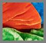 лазурный/зеленый попугай/оранжевый