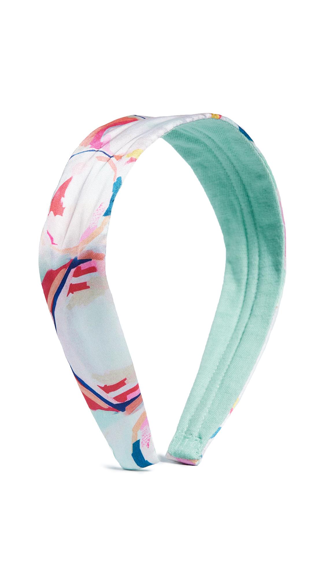 NAMJOSH Pastel Floral Print Headband - Multi