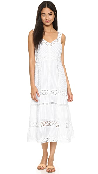 Nanette Lepore All Laced Up Dress - Ivory