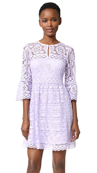 Nanette Lepore Garden Party Dress - Lavender