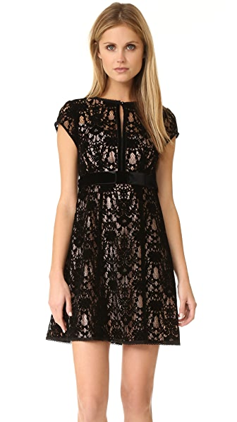 Nanette Lepore Boudoir Lace Dress