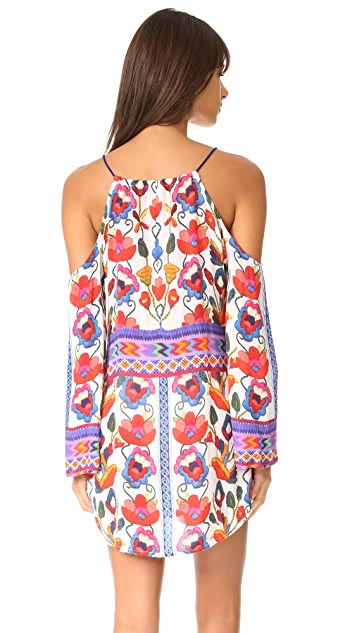 Nanette Lepore Antigua Cold Shoulder Cover Up